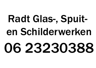 Radt Glas-, Spuit- en Schilderwerken